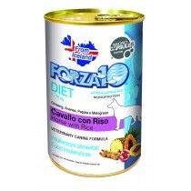 Forza 10 Lata Diet Caballo + Arroz Perro 400 gr