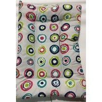 Colchón-Espuma-Estampados-círculos-colores