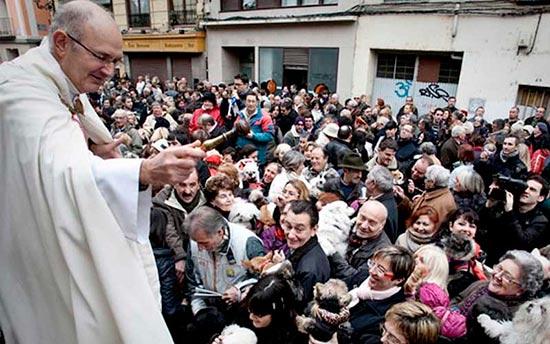bendicion animales san anton - San Antón bendice como cada 17 de enero a todos los animales